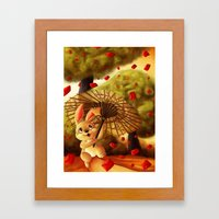 Year of the Bunny Framed Art Print