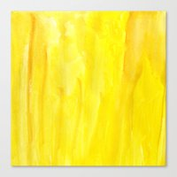Yellow No. 1 Canvas Print