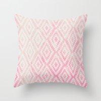 Summer Fade: Berry Popsi… Throw Pillow