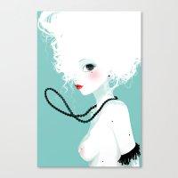 Black Pearls Canvas Print