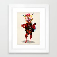 Diablo Framed Art Print