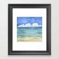 St. Croix Framed Art Print