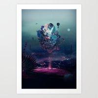 Flying Object Art Print