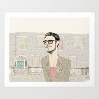 I´m hipster  Art Print