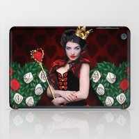 Painting The Roses Red iPad Case
