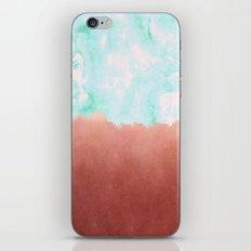 Sea Green + Copper #society6 #decor #buyart iPhone & iPod Skin