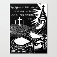 Religion? Canvas Print