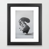 nFLOW Framed Art Print