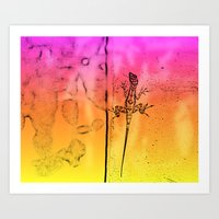 Colors are everywhere Art Print