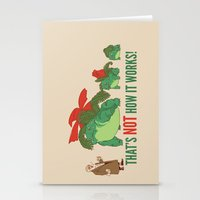 Conflicting Theories Stationery Cards