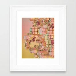 Framed Art Print - LOW BATTERY MODE (everyday 08.23.16) - beeple