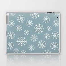 Snow Flakes Winter Laptop & iPad Skin