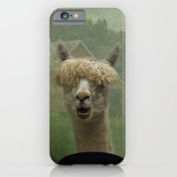 iPhone & iPod Case featuring Alpaca Farm by TaLins