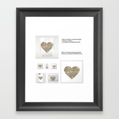 replay-5 Framed Art Print