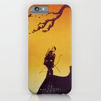 iPhone & iPod Case featuring The Hunger Games by Jonathan Trier