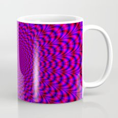 Pulse in Red and Blue Mug