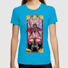 Epic Chrono Womens Fitted Tee Teal SMALL