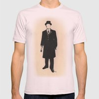 The Old One Percent  Mens Fitted Tee Light Pink SMALL
