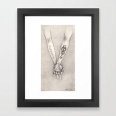 Dramione Framed Art Print