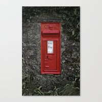 Postbox Canvas Print