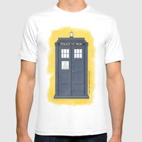 9th Doctor - DOCTOR WHO Mens Fitted Tee White SMALL