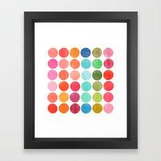 colorplay 5 Framed Art Print