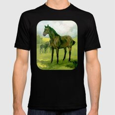 Sound Reason (CAN) - Thoroughbred Stallion Black Mens Fitted Tee SMALL