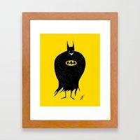 The Bat Creep Framed Art Print