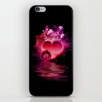 Flooding Heart iPhone & iPod Skin