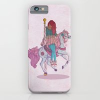 iPhone & iPod Case featuring Carousel by Leigh Wortley