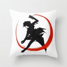 Assassin Throw Pillow