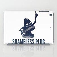 Shameless Plug iPad Case