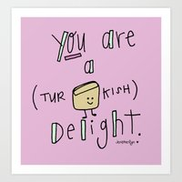 Turkish Delight Art Print