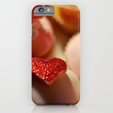 heart cupcakes iPhone 6 Slim Case