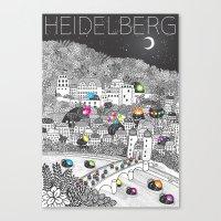Locals Only - Heidelberg… Canvas Print