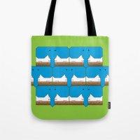 Elephant-Dog Pattern Tote Bag