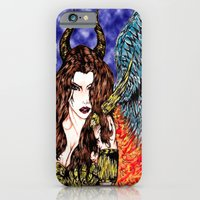 angel or demon in color iPhone 6 Slim Case