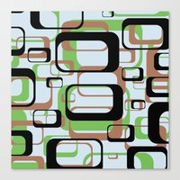 Patternation Canvas Print