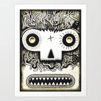 Wormface 2 Art Print