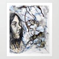 Sea Self Art Print