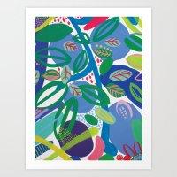 Secret Garden II Art Print