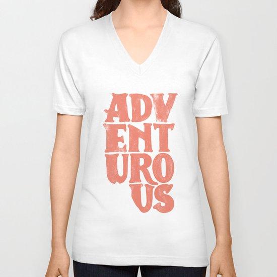 More Adventurous! V-neck T-shirt
