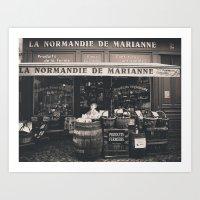 Shop France Art Print