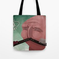 Mustache Speed Tote Bag