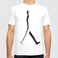 Goin Nowhere Mens Fitted Tee White SMALL