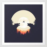 Art Print featuring Runaway by filiskun