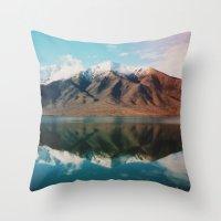 New Zealand Glacier Land… Throw Pillow