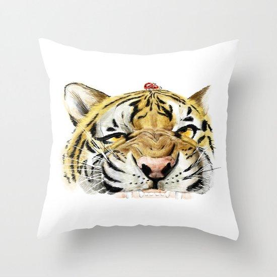 Love Paradise Throw Pillow
