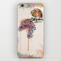 Pretty Bird iPhone & iPod Skin