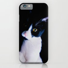 Black White Cat iPhone 6s Slim Case